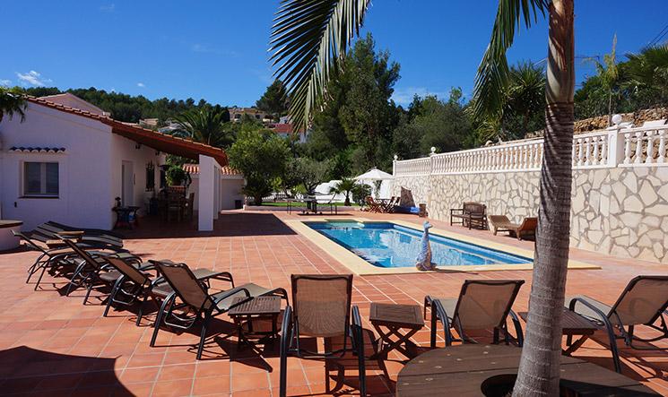 valparaiso exclusive luxury villa costa blanca spain location