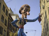 Fallas figure in Valencia
